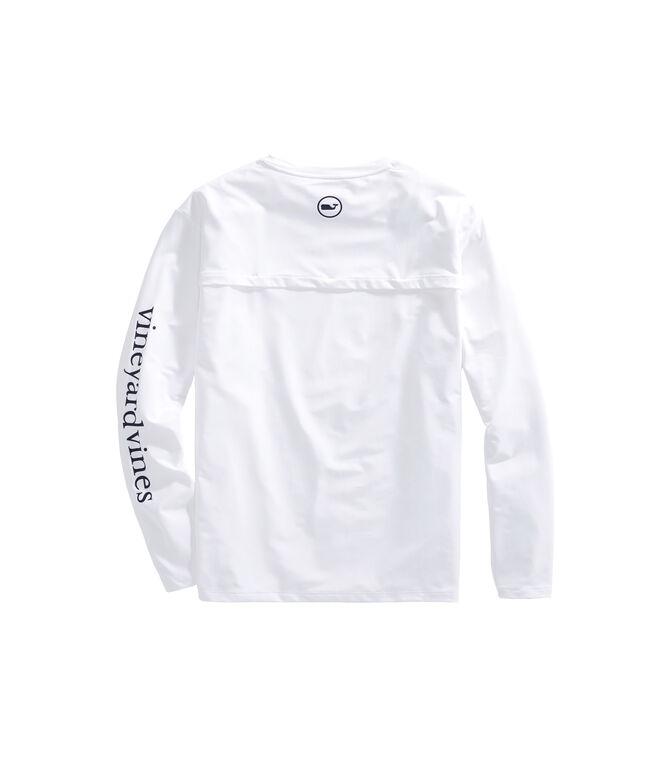 Long-Sleeve Performance Vented Boating T-Shirt