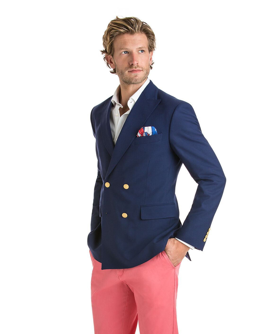 Shop America's Cup Double Breasted Blazer at vineyard vines