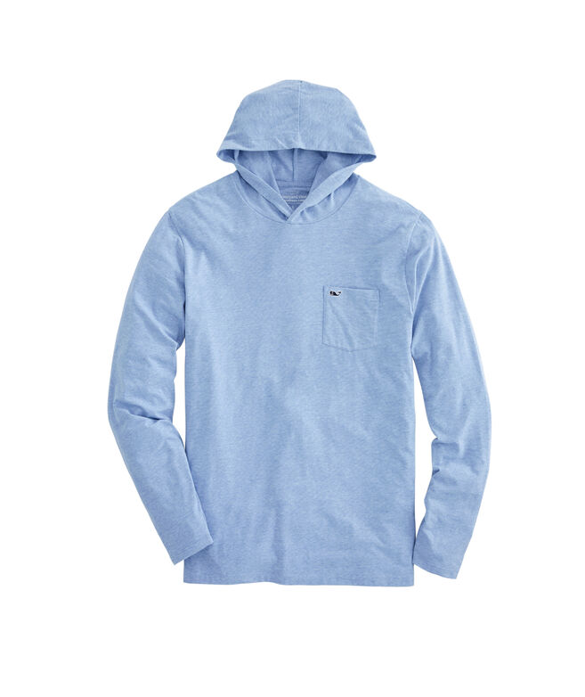 Big & Tall Long-Sleeve Edgartown Hoodie T-Shirt
