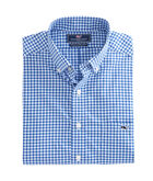 Nobska Check Performance Slim Tucker Shirt