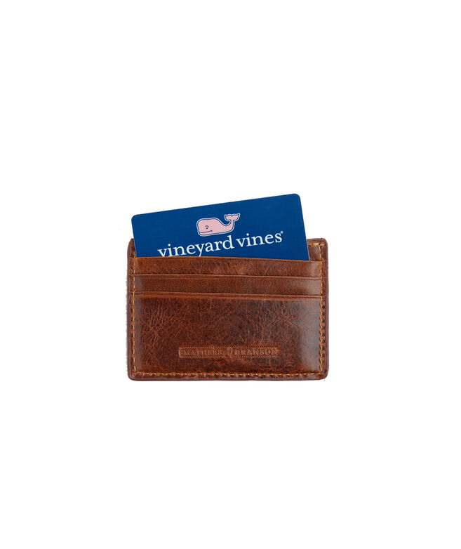 vineyard vines x Smathers & Branson Crossed Bonefish Card Case