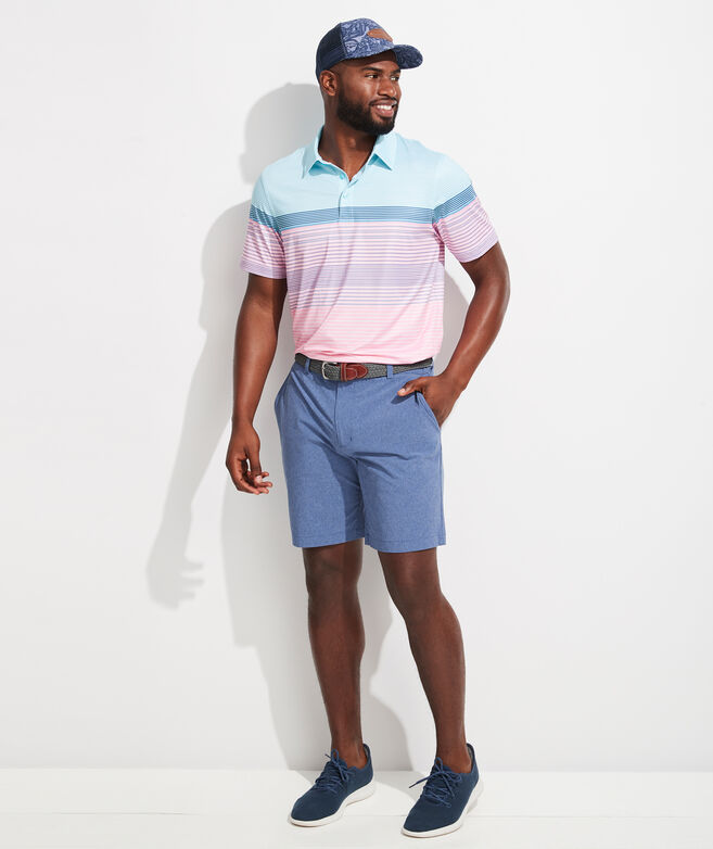 Engineer Stripe Sankaty Performance Polo