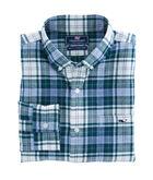 Hayward Point Plaid Performance Flannel Slim Tucker Shirt