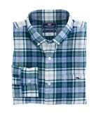 Hayward Point Plaid Performance Flannel Slim Tucker Shirt