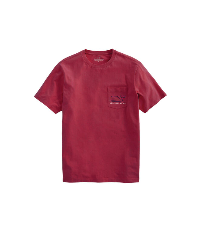 Two Color Whale Pocket Tee