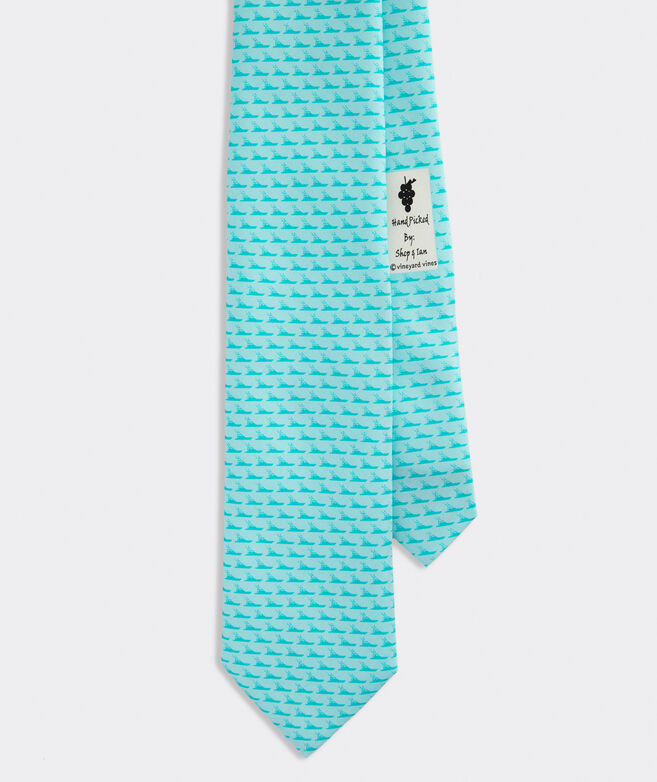 Tonal Sportfisher Printed Tie