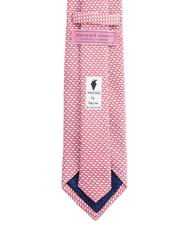 Whale Pattern Tie