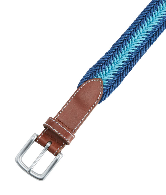 Prep Stripe Waxed Cord Belt