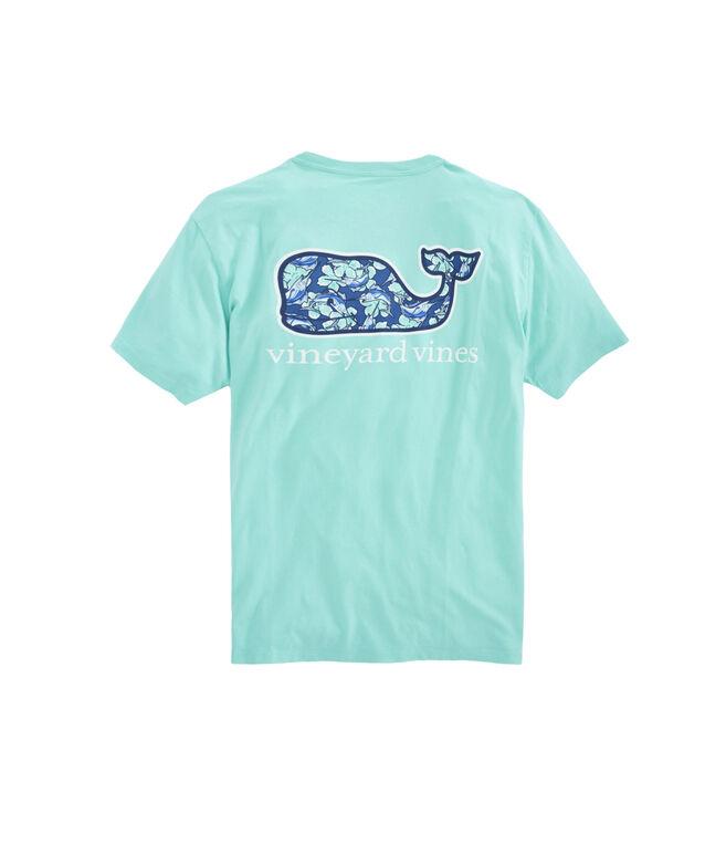 241d8ed86 Shop Marlin Flowers Whalefill Pocket T-Shirt at vineyard vines