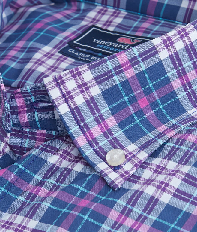 Coulter Pine Plaid Performance Classic Murray Shirt