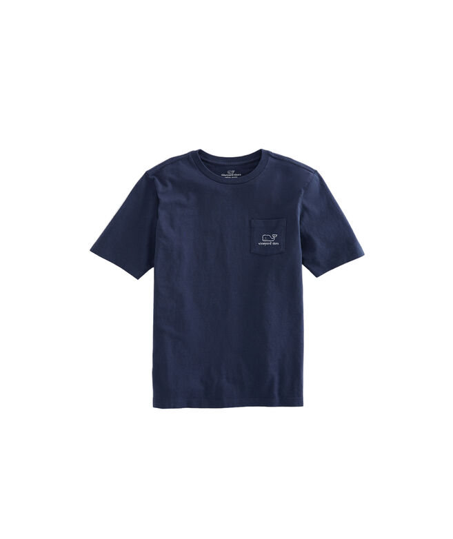 Kids Vintage Whale Pocket T-Shirt