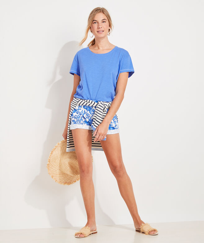 """Morada Floral 5"""" Every Day Short"""
