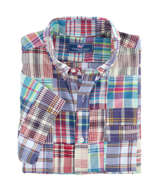 Classic Fit Belmar Madras Murray Shirt