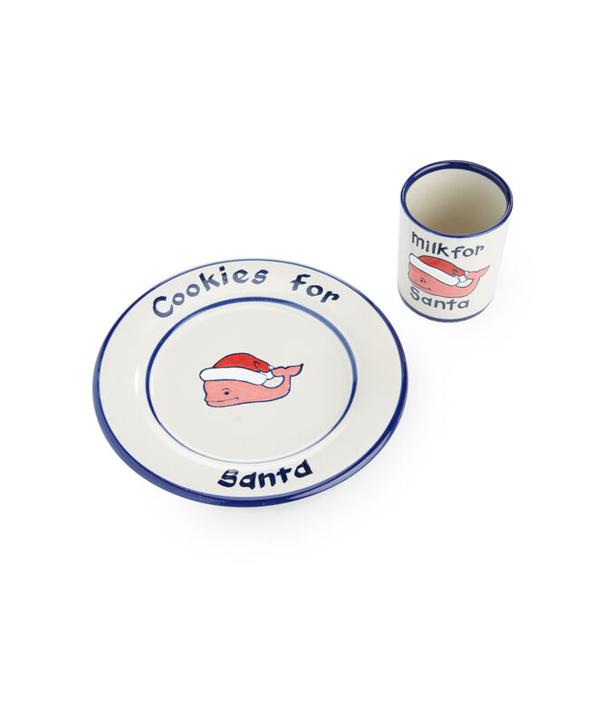 Milk & Cookies For Santa Set