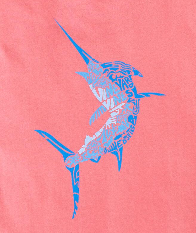 Marlin Icon Fill Short-Sleeve Pocket Tee