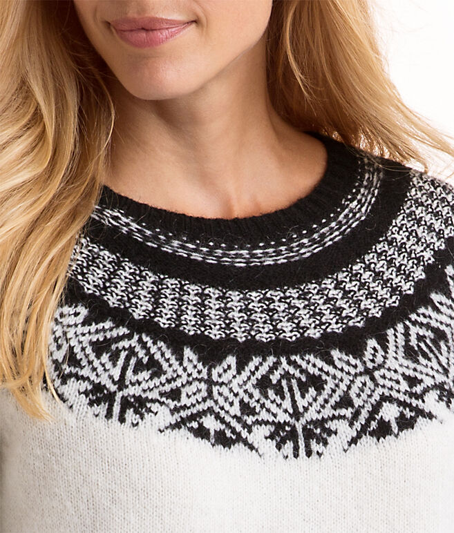 Nordic Fair Isle Sweater