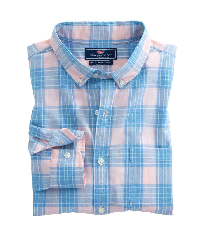Kirk Park Plaid Slim Murray Shirt