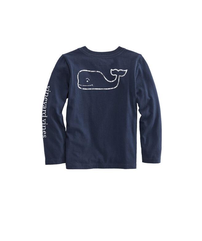 Baby Long-Sleeve Vintage Whale Tee (12-24 MO)