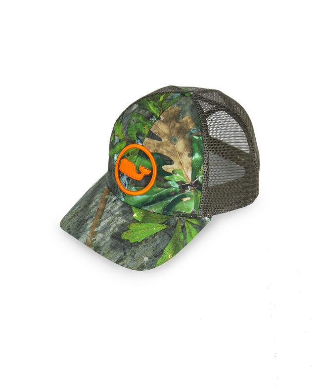 Mossy Oak Whale Dot Camo Trucker Hat