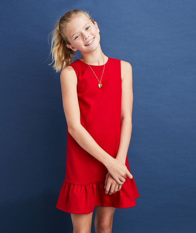 Girls Drop Waist Pointe Dress