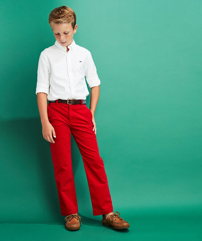 Boys Corduroy Breaker Pants