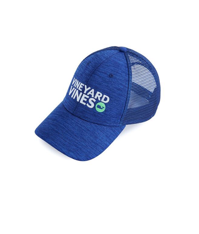 Performance Space Dye Trucker Hat