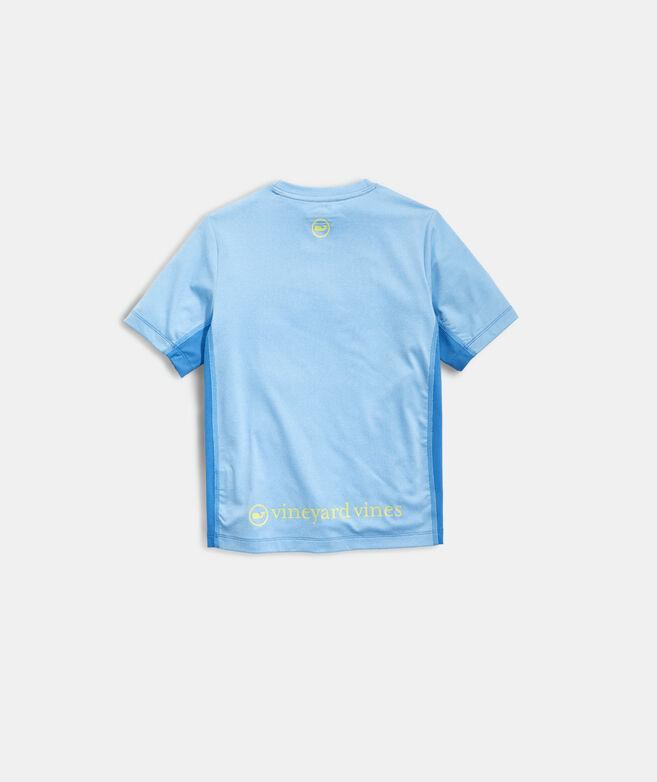Boys' Whale Dot Short-Sleeve Performance Tee