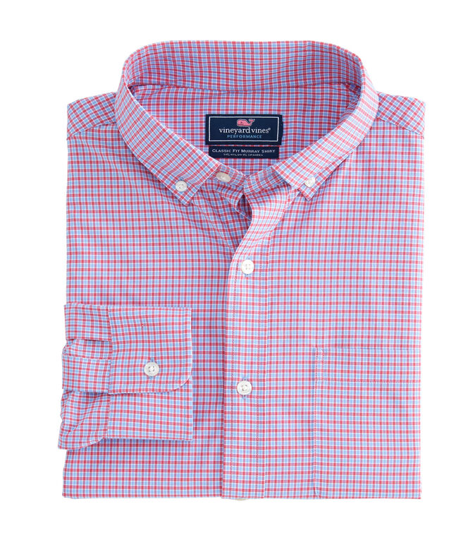 Bavaro Check Performance Classic Murray Shirt