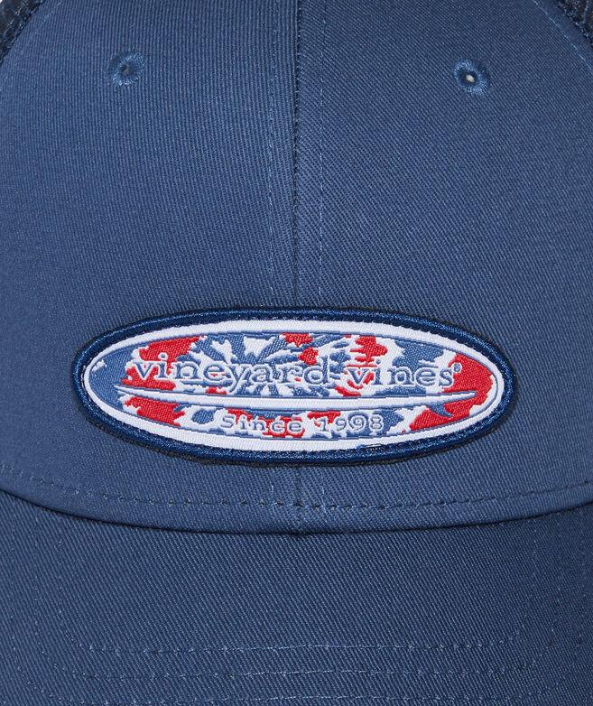 Tie-Dye Surf Patch Trucker Hat