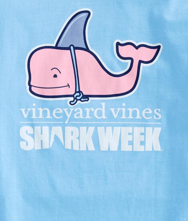 Womens Shark Week Decoy Whale Tee