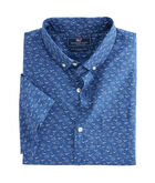 Short-Sleeve Mini Seagulls Slim Murray Shirt