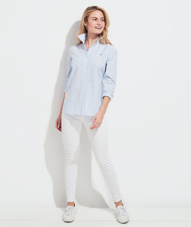 Striped Chilmark Classic Button Down