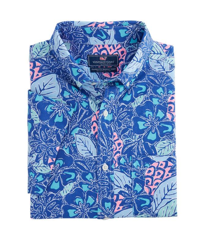 Short-Sleeve Pineapple Classic Murray Shirt