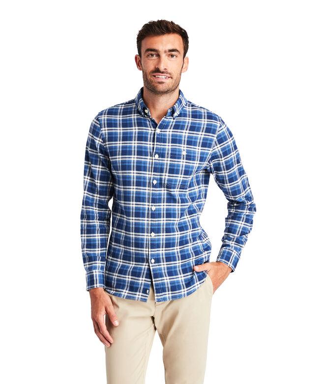 Slim Fit Java Longshore Shirt
