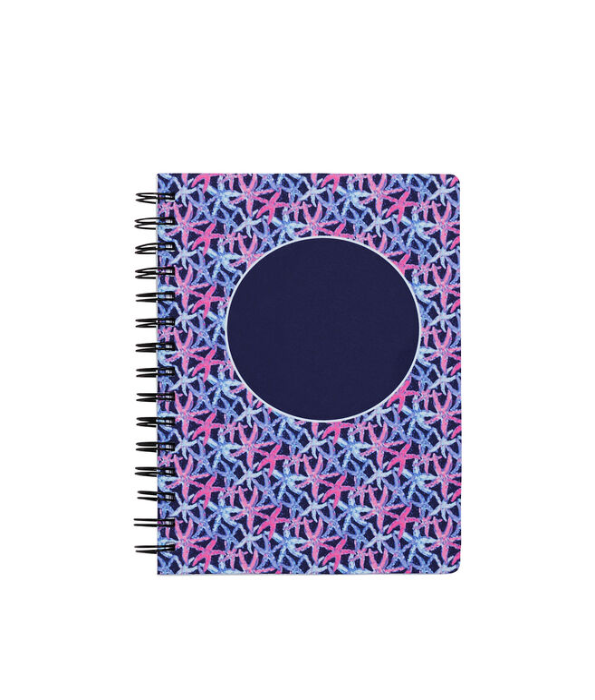 Monogrammed Starfish Notebook