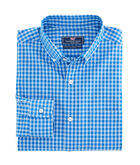 Folly Beach Gingham Classic Murray Shirt