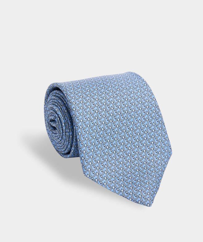 Hook Up Printed Extra Long Tie