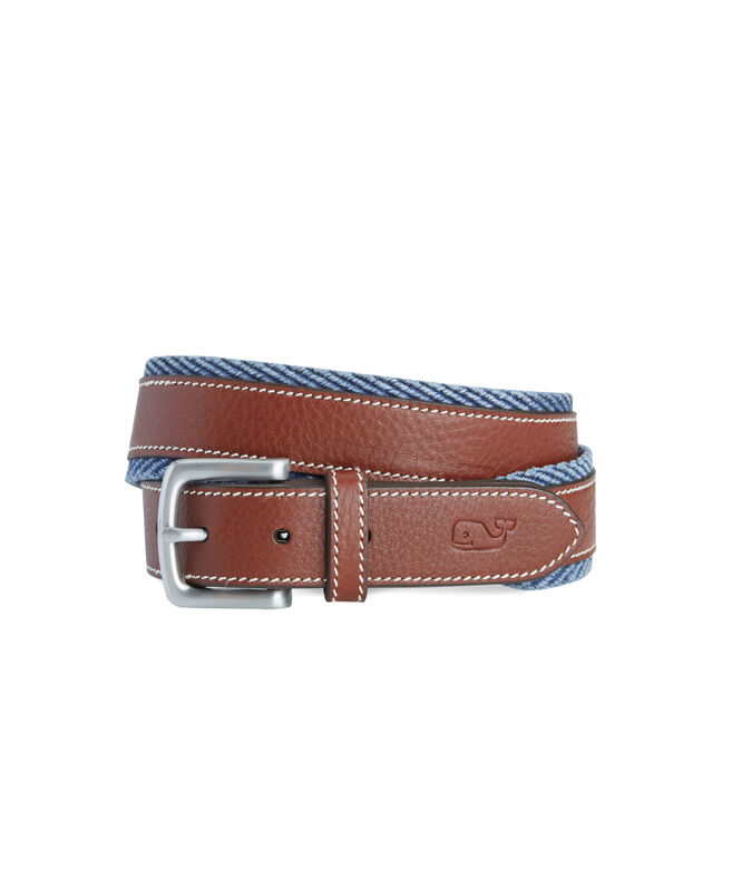 Canvas Border Belt