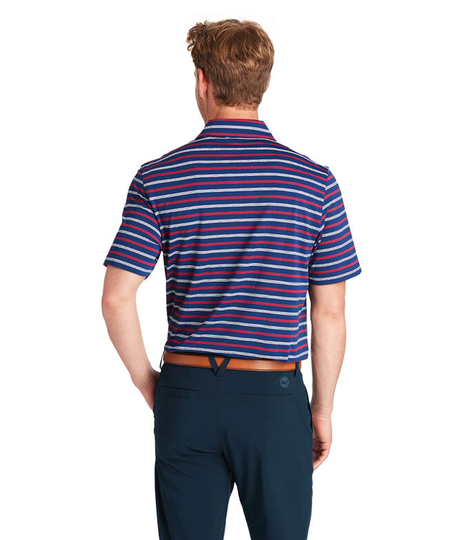 Camden Stripe Sankaty Performance Polo