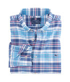Fort Sumter Plaid Slim Tucker Shirt
