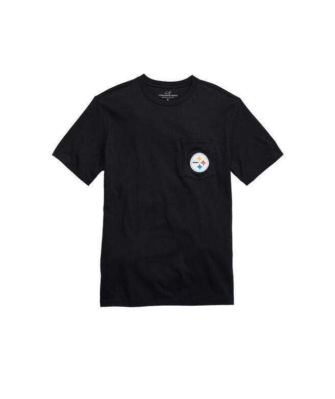 Pittsburgh Steelers Block Stripe T-Shirt