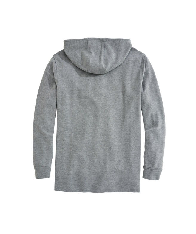 OUTLET Broadfield Snap Placket Hoodie