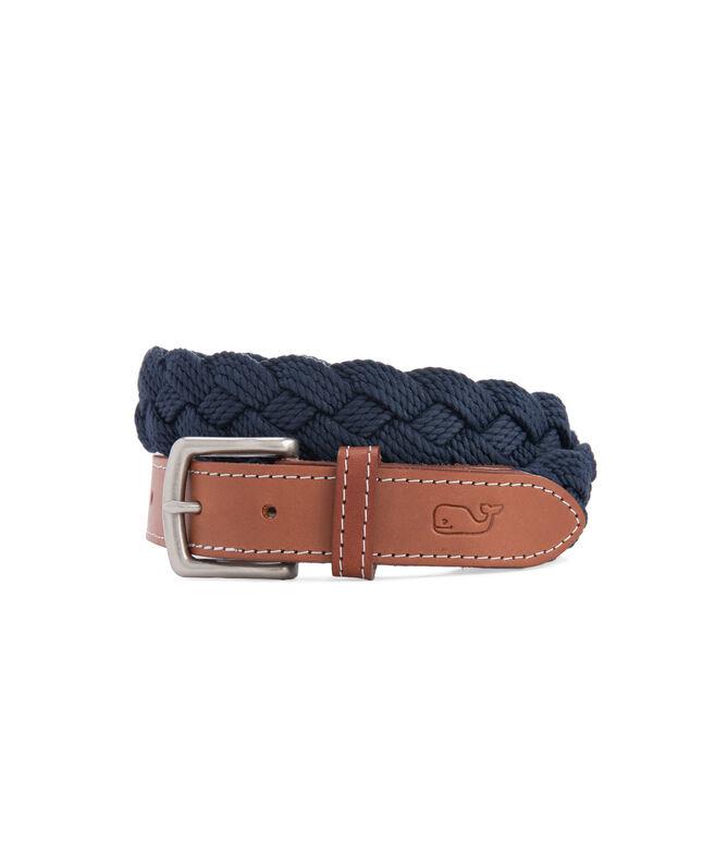 Braided Rope Belt