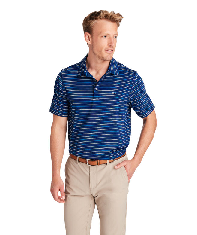 Port Stripe Sankaty Performance Polo