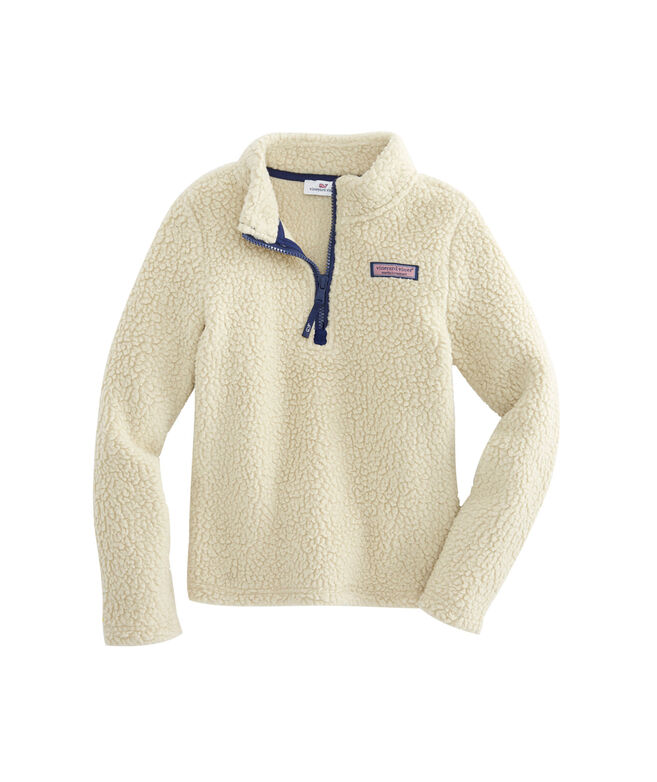 Girls Sherpa Harbor 1/2-Zip