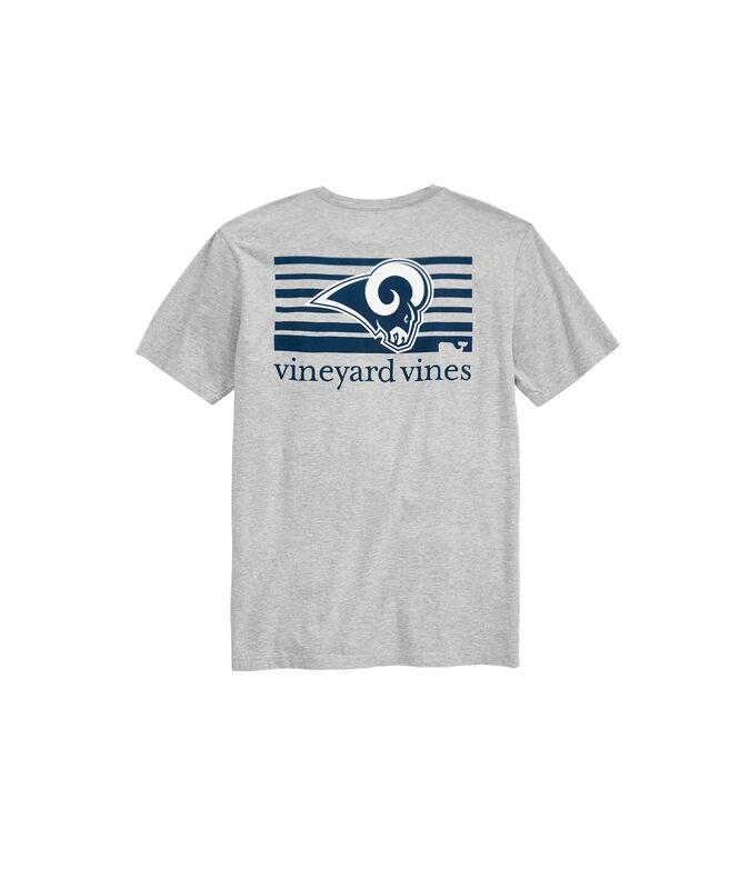 Los Angeles Rams Block Stripe T-Shirt