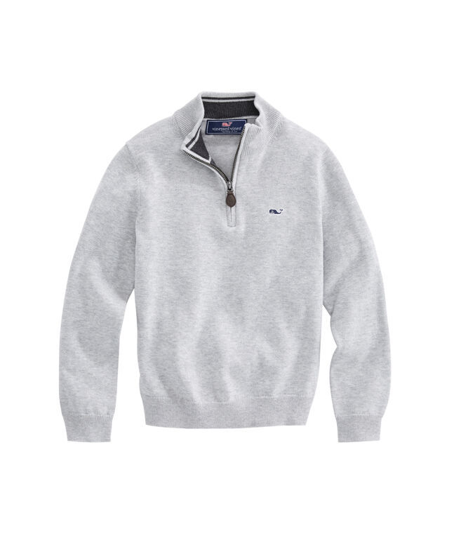 Boys 1/2-Zip Sweater