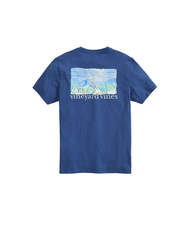 Bonefish Graphic Pocket Tee