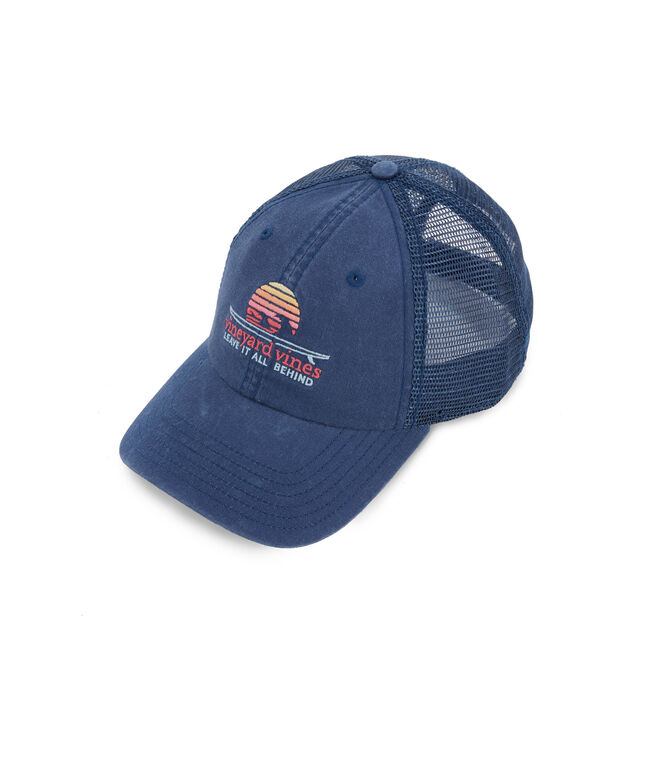 vineyard vines Sunrise Surf Trucker Hat