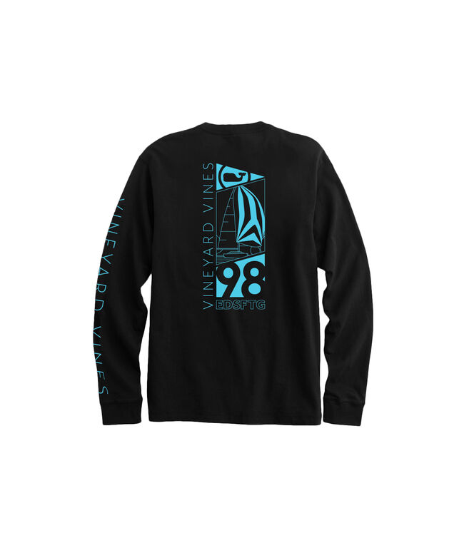 98 Spinnaker Long-Sleeve Pocket Tee
